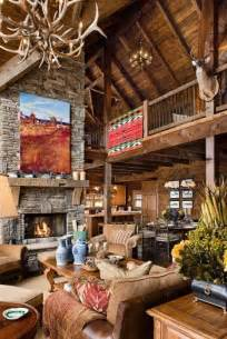 Log Cabin Homes with Fireplaces