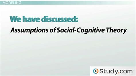 cognitive biography definition social cognitive learning theory definition and exles