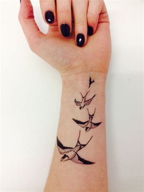 do inner wrist tattoos hurt best 25 bird wrist tattoos ideas on small