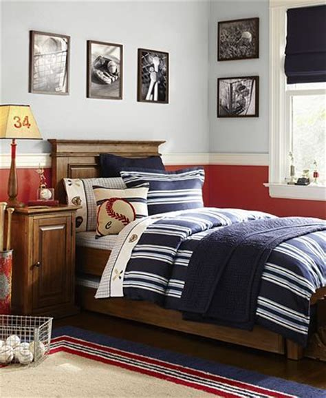pottery barn boys bedroom best boy rooms neutral and classy simple baseball b could grow with this room