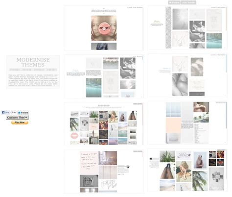 Themes For Tumblr By Modernise | modernise themes pearltrees
