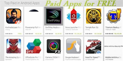 top paid android apps best paid android apps