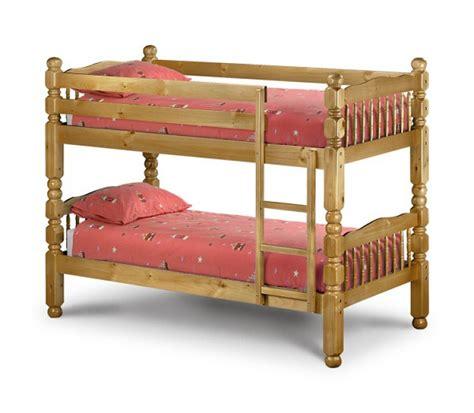 Julian Bowen Chunky Bunk Bed Julian Bowen Chunky Pine 3ft Childrens Bunk Bed By Julian Bowen