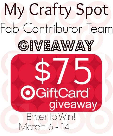 Target Gift Card Giveaway - 75 target gift card giveaway illistyle
