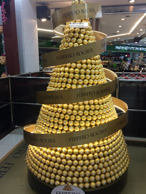 roche christmas tree ferrero rocher tree www pixshark images galleries with a bite