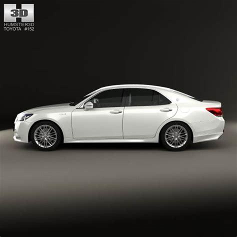 Toyota Crown 3d Model