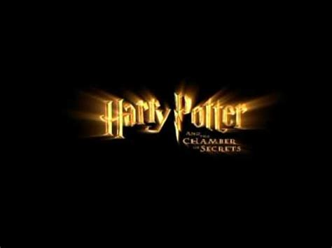 secret intro harry potter and the chamber of secrets tv intro