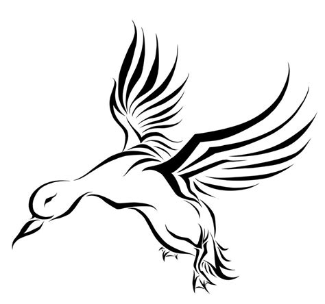 hunting tribal tattoos duck tattoos designs ideas and meaning tattoos for you