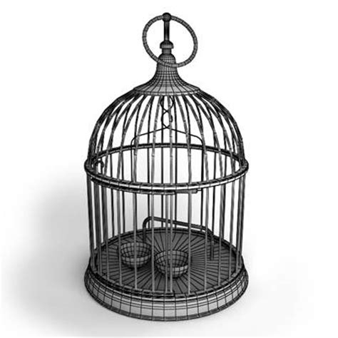 3d model round bird cage 49 95 buy download