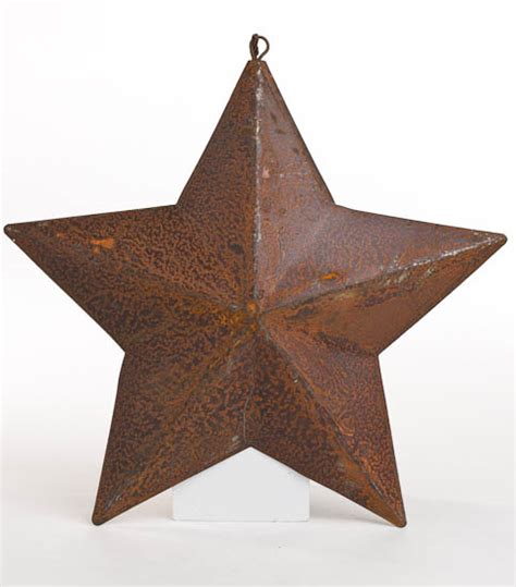 Western Star Home Decor by Primitive Dimensional Barn Star Ornament Wall Decor