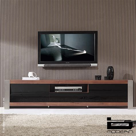 B modern coordinator walnut amp tv stands metropolitandecor