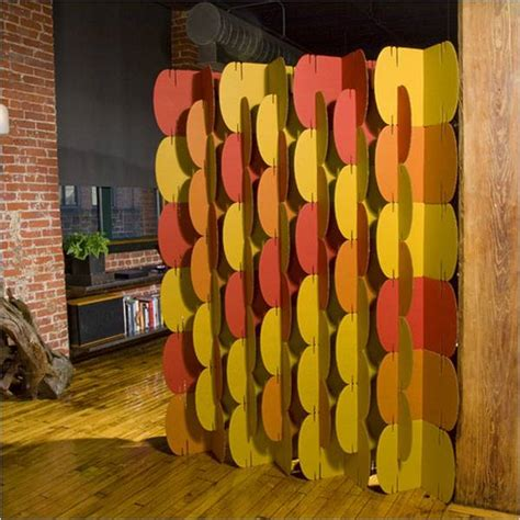cardboard room partitions feel the home