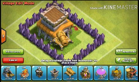 cara membuat pohon natal di clash of clans cara membuat base clash of clans hantu reskiawan rura malino