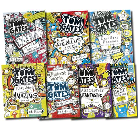 140714880x tom gates top of tom gates collection liz pichon 7 books set extra special