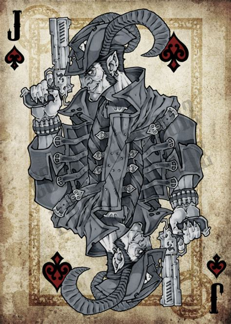 jack of spades tattoo deviantart cards by noah wippie cards