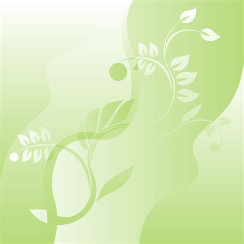 Floral In Green green floral background png www pixshark images