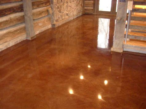 Concrete Stain NH MA ME   Acid Paint   Contractor