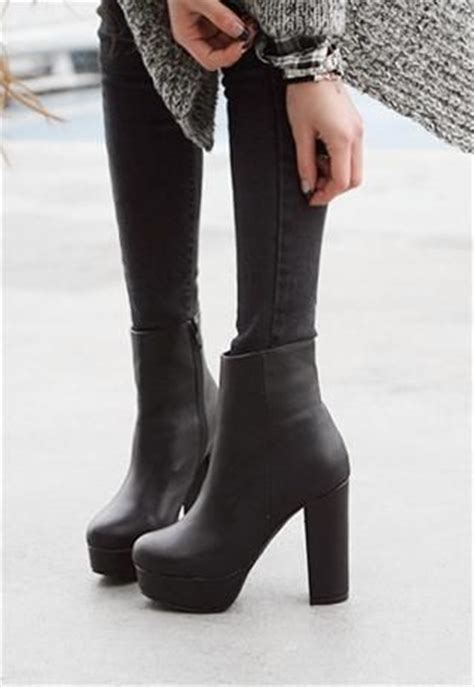 25 black heel boots ideas on heel boots