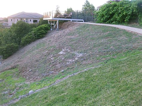 how to landscape a hill suggestions for groundcover on steep hill