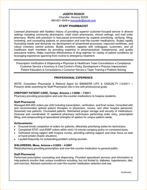 best pharmacy technician resume example livecareer