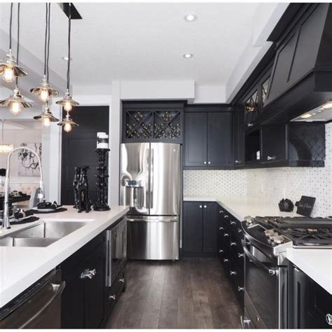 black or white kitchen cabinets why i m dreaming of a black kitchen organizing made
