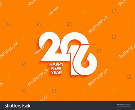 beautiful happy new year design beautiful text design of happy new year 2016 on bright