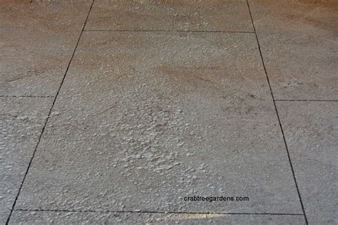 Faux Painting Wood Grain - how to make a concrete floor look like limestone garden and a guest house