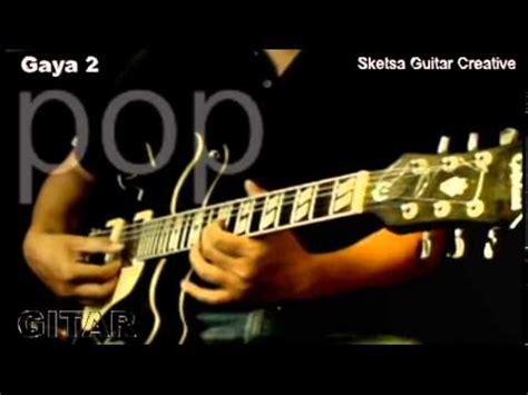 belajar gitar teknik part 1 4 5 belajar bermain melodi improvisation cara mengura