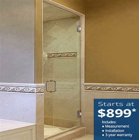 Single Shower Doors Glass Single Glass Shower Doors Dulles Glass