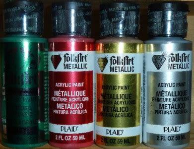 is folk acrylic paint folk shimmering metallics 2 oz acrylic paint lot 4