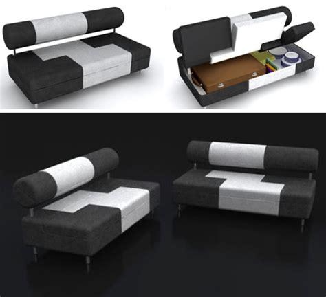 secret sofas saving space storage filled sofa has secret compartments