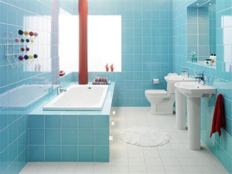 Light Blue Bathroom Ideas 43 Bright And Colorful Bathroom Design Ideas Digsdigs