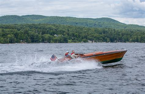 party boat kent kent o smith jr throws a hale mary from lake george for