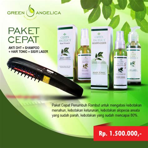 Perawatan Rambut Rontok Parah Green Paket Penyubur Rambut perawatan rambut rontok dan penumbuh rambut botak klinik
