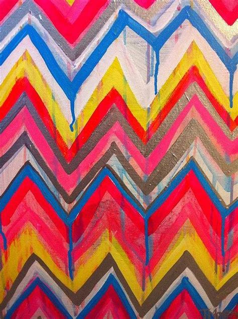 chevron template for painting custom ikat chevron 16x20 painting by by