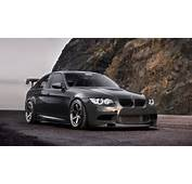 Cars Tuning BMW M3 Tuned Black  Wallpapers