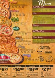 home delivery menu of papa johns papa johns pizzeria franchise menu in staten island new