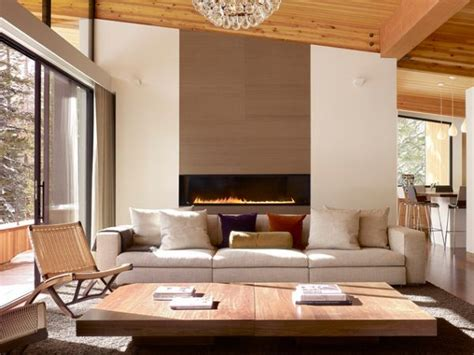 Modern Country Fireplace by 21 Modern Fireplaces Characteristics And Interior D 233 Cor Ideas