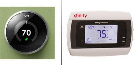 nest or comcast for your smart thermostat