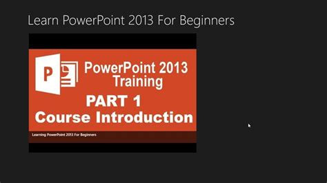 powerpoint tutorial for beginners how to use powerpoint 2013 for beginners for windows 8 and 8 1