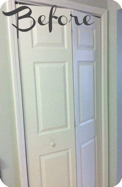Remove Bifold Closet Doors How To Turn A Bi Fold Door Into A Door Closet Doors Painted Remove All And Hardware