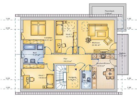 5 familienhaus grundriss doppelh 228 user mehrfamilienh 228 user massivhaus