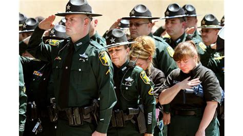 Polk County Sheriff S Office Florida by Polk County Fla Deputy Joseph Quot Shane Quot Robbins Laid To Rest