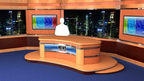 news studio desk lv 0023 news studio desk datavideo virtualset