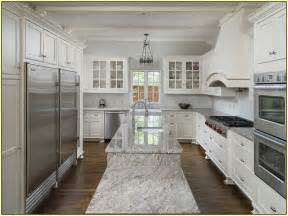 good White Kitchen Design Images #1: dallas-white-granite-countertops.jpg
