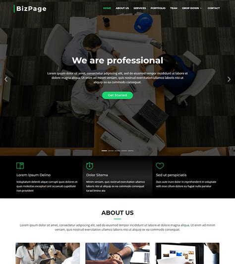 bootstrap themes getbootstrap free bootstrap themes and website templates