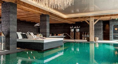 Indoor Pool Design what it s like to stay at a six star ski chalet in lech