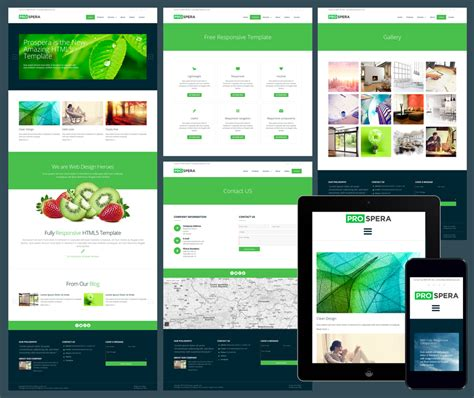 Responsive Business Website Templates 12 free responsive business website templates