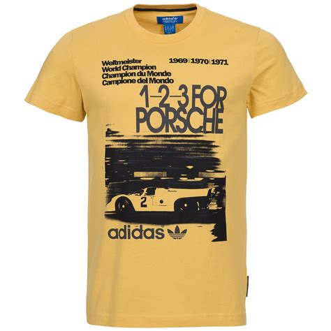 Porsche T Shirt Ebay by Adidas Originals Porsche Herren T Shirt Speedster Turbo