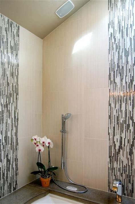 vertical tile bathroom vertical mosaic tile bathroom pinterest